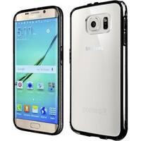 Insten Hard Snap-on Dual Layer Hybrid Crystal Bumper Frame For Samsung Galaxy S7 Edge