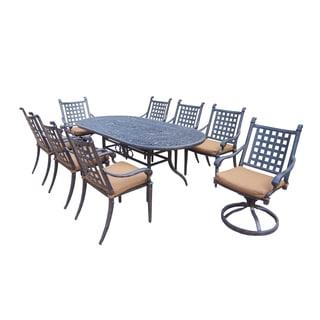 Sunbrella Aluminum Outdoor Patio Dining Set (9 Piece Set)