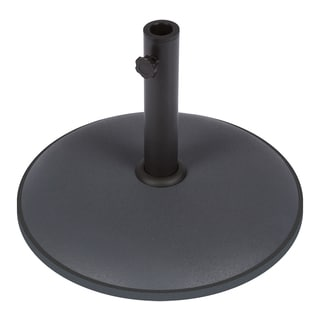 Trademark Innovations Sturdy Grey Cement Umbrella Base