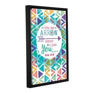 Shawnda Craig (Eve)'s 'Follow Your Arrow' Gallery Wrapped Floater-framed Canvas