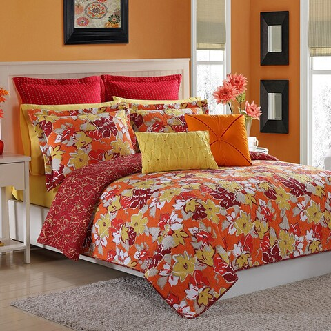 Fiesta Sedona Reversible 2 & 3 Piece Quilt Set