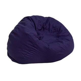 Bean Bag Chair in Navy Blue