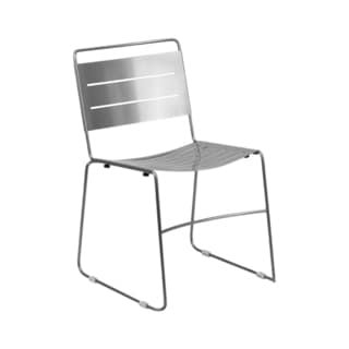 Offex HERCULES Series Indoor-Outdoor Metal Restaurant Stack Chair
