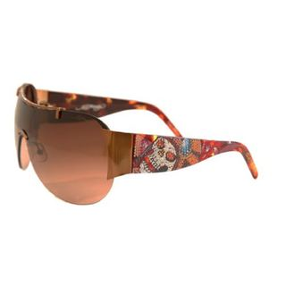 Ed Hardy EHS-003 Japan Cocoa/Brown Sunglasses