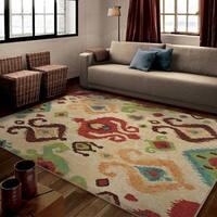Carolina Weavers Brighton Collection Celebrate Multi Area Rug (7'10 x 10'10)