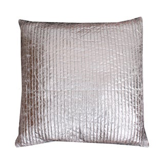 Thro by Marlo Lorenz Gary Quilted Crackle Feather Filled Throw Pillow