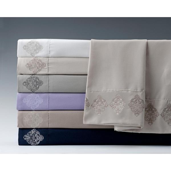 Mehran 4 -piece Embroidered Sheet Set