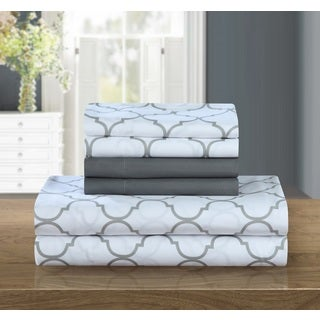 Chic Home 6-piece Grey Tymon Sheet Set
