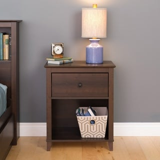 1 Drawer Accent Table in Dark Brown
