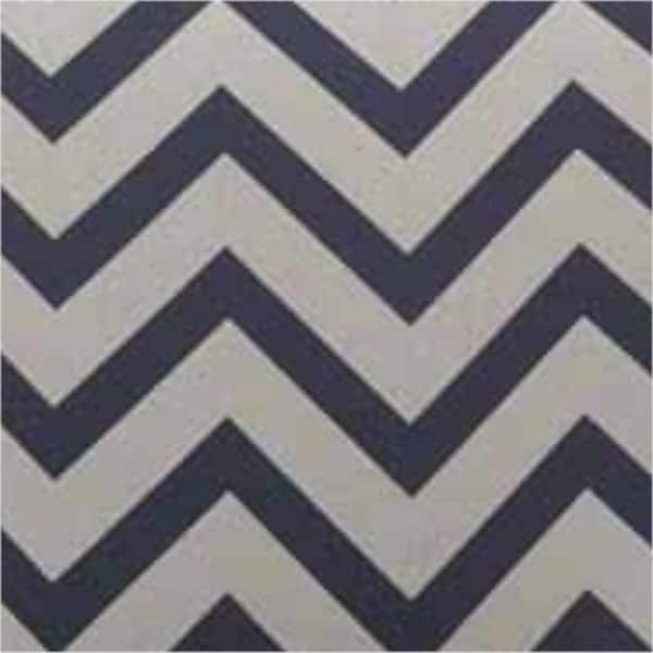 Stupendous Shop Swivel Accent Chair With Blue And White Chevron Pattern Ocoug Best Dining Table And Chair Ideas Images Ocougorg