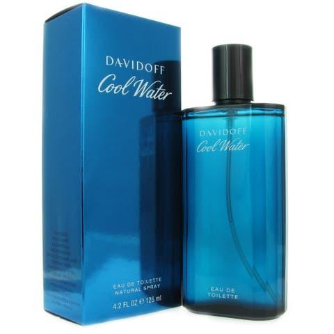 Davidoff Cool Water Men's 4.2-ounce Eau de Toilette Spray