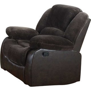 Polyurethane Recliner in Brown