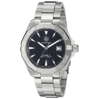 Tag Heuer Men's WAY2110.BA0928 'Aquaracer' Automatic Stainless Steel Watch