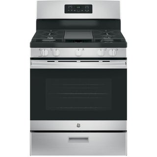 GE Stainless Steel 30-inch Free-Standing Gas Range (4 options available)