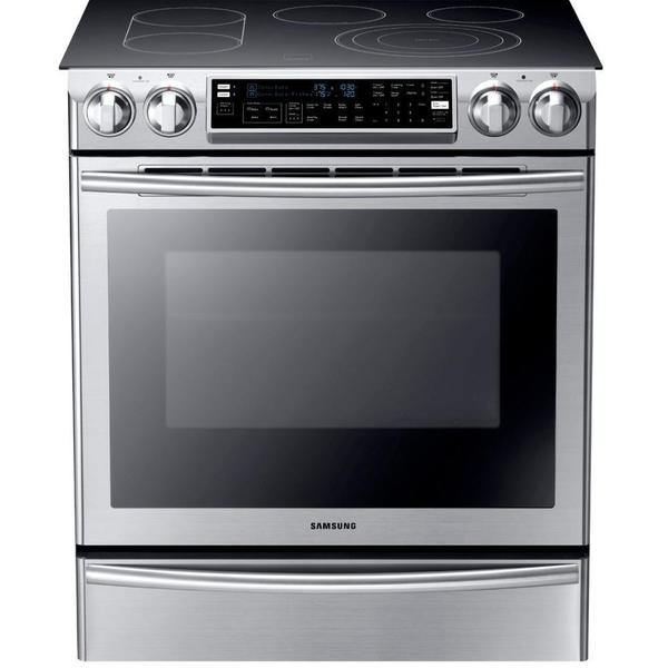 Samsung 30 Inch Slide In Electric Range Free Shipping