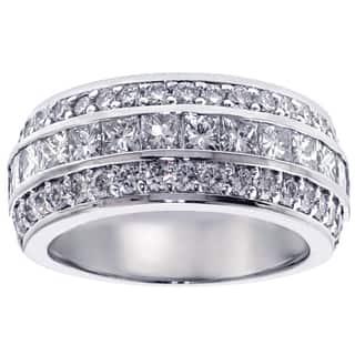 Platinum 2ct TDW Diamond Anniversary Band|https://ak1.ostkcdn.com/images/products/11685379/P18611567.jpg?impolicy=medium
