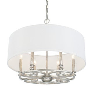 Capital Lighting Corrigan Collection 6-light Antique Silver Pendant