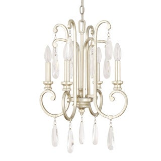 Capital Lighting Cambridge Collection 4-light Winter Gold Chandelier