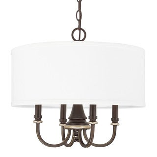 Capital Lighting Asher Collection 4-light Champagne Bronze Pendant