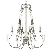 Capital Lighting Vineyard Collection 10-light French Country Chandelier