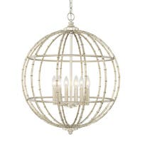 Capital Lighting Contemporary 6-light Soft Gold Pendant