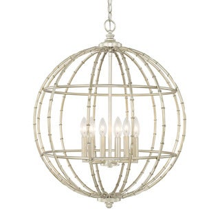 Capital Lighting Contemporary 6-light Soft Gold Pendant