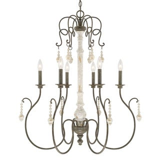 Capital Lighting Vineyard Collection 6-light French Country Chandelier