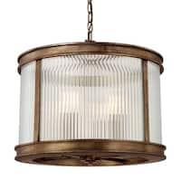Capital Lighting Reid Collection 4-light Rustic Pendant