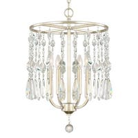 Capital Lighting Juliette Collection 4-light Winter Gold Chandelier