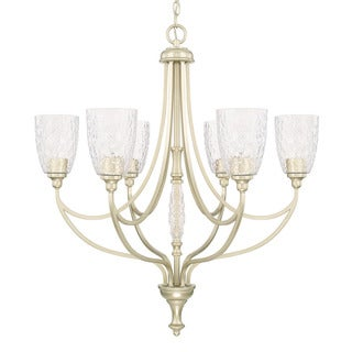 Capital Lighting Seaton Collection 6-light Soft Gold Chandelier