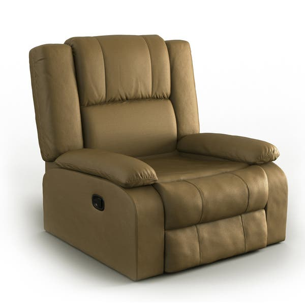 Awesome Porch Den Bay View Manitoba Green Microfiber Recliner Machost Co Dining Chair Design Ideas Machostcouk