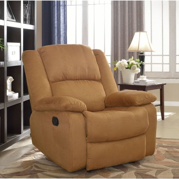 Microfiber Brown Recliner