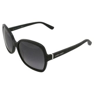 Jimmy Choo LORI/S 6UIHD Women's Black Sunglasses (As Is Item)