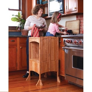 Solid Cherry Heartwood Kitchen Helper