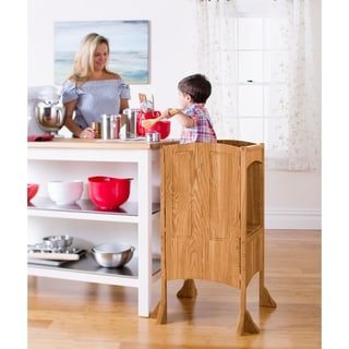 Solid Oak Heartwood Kitchen Helper