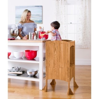 Solid Oak Heartwood Kitchen Helper
