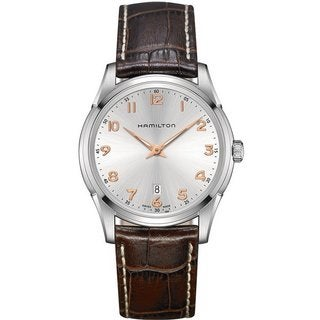 Hamilton Men's H38511513 Jazzmaster Thinline Quartz White Watch (Option: White)