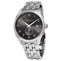 Hamilton Men's H42515135 'JazzMaster' Black Dial Stainless Steel Maestro Small Seconds Automatic Watch