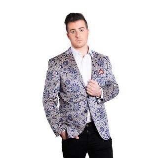 Elie Balleh Men's Milano Italy Cotton 2015 Style Slim Fit Jacket/Blazer|https://ak1.ostkcdn.com/images/products/11686025/P18612015.jpg?_ostk_perf_=percv&impolicy=medium