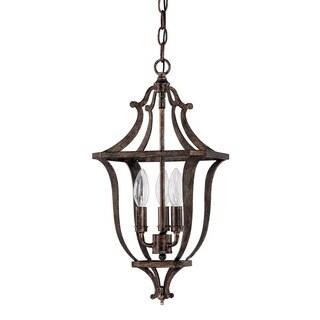 Capital Lighting Corday Collection 3-light Rustic Pendant