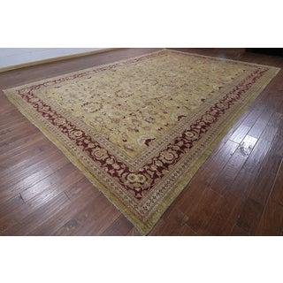Hand-knotted Chobi Peshawar Camel Wool Rug (11'10 x 16'6)