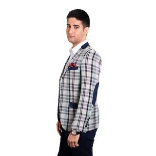 Elie Balleh Milano Italy Men's 2015 Style Slim Fit Cotton Jacket/Blazer