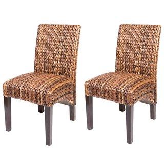 Gracewood Hollow Hemingway Seagrass Dining Chair (Set of 2)