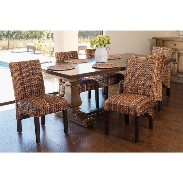 seagrass dining chair (set of 2) - free shipping today - overstock