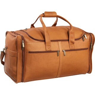 LeDonne Leather Classic Cabin 22-inch Carry On Duffel Bag (Option: Beige)