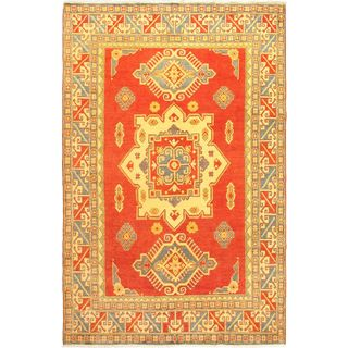Ecarpetgallery Hand-knotted Finest Gazni Multicolor Wool Rug (6'6 x 10'2)