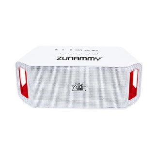Zunammy LED White 1200 MAH Portable Bluetooth Speaker with build in Microphone