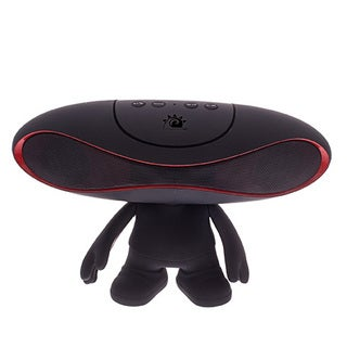 Zunammy Black Portable Rugby Doll Wireless 800 MAH Portable Bluetooth Speaker