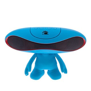 Zunammy Red Portable Rugby Doll Wireless 800 MAH Portable Bluetooth Speaker