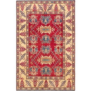 Ecarpetgallery Hand-knotted Finest Gazni Red Wool Rug (7' x 10'8)